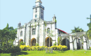 One of the world oldest Famous Historical old churches in  bohol philippines 2018  Alburquerque church