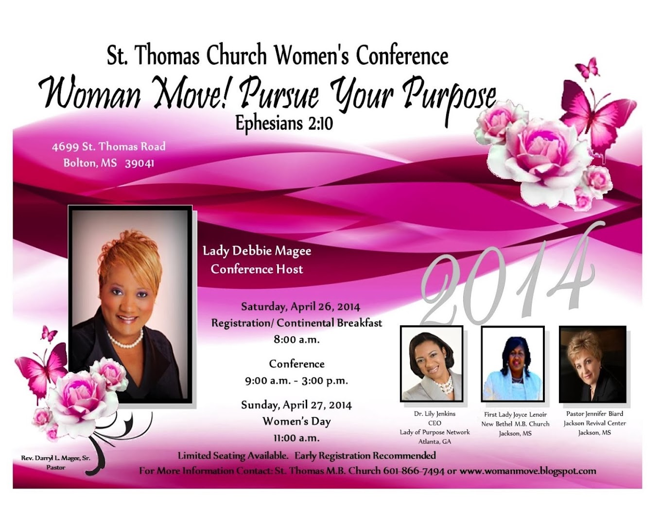 ST THOMAS WOMEN39S CONFERENCE 2014