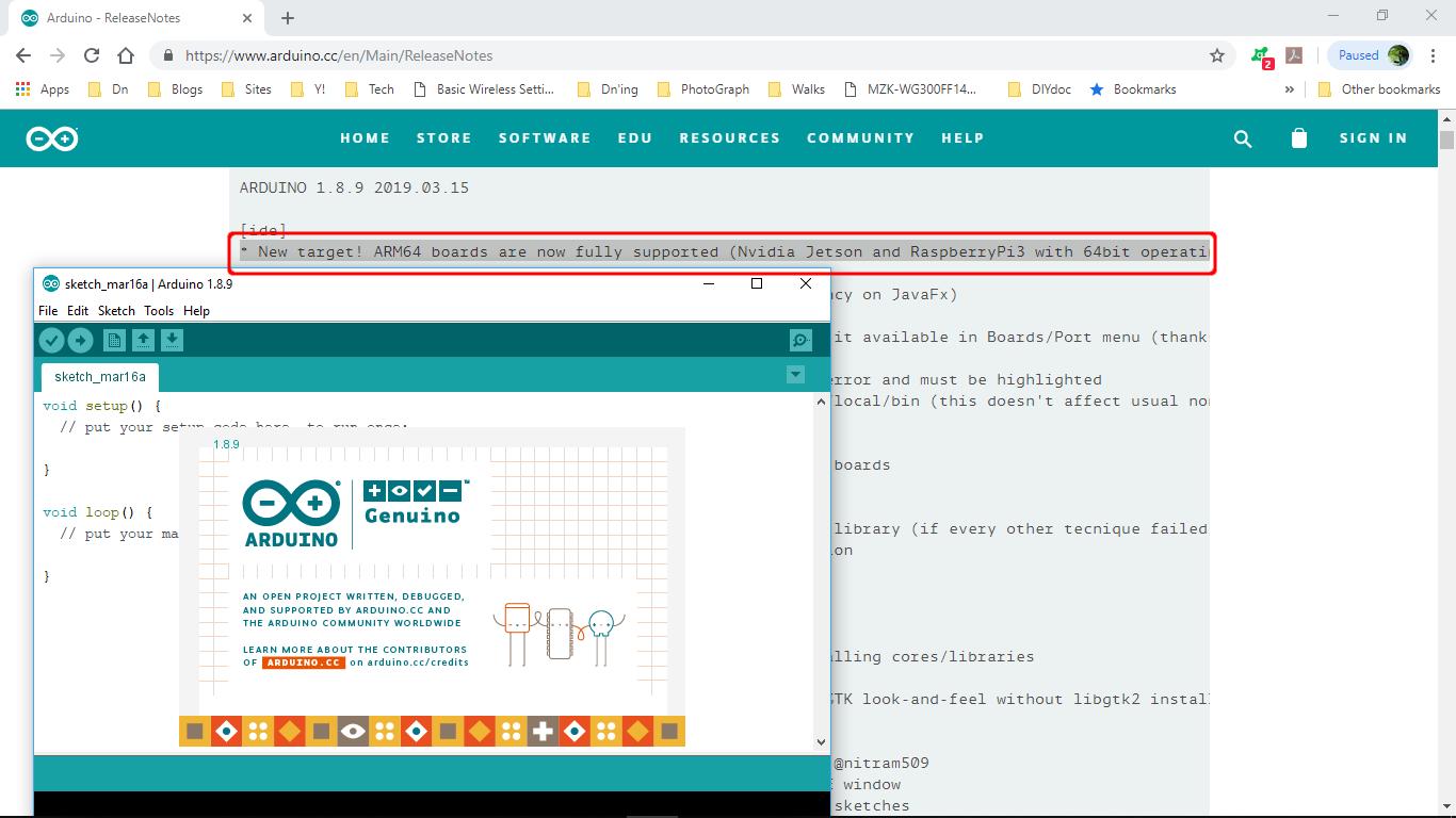 Arduino-er: Arduino IDE 1 8 9 released