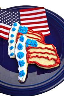 american flag cookies recipe