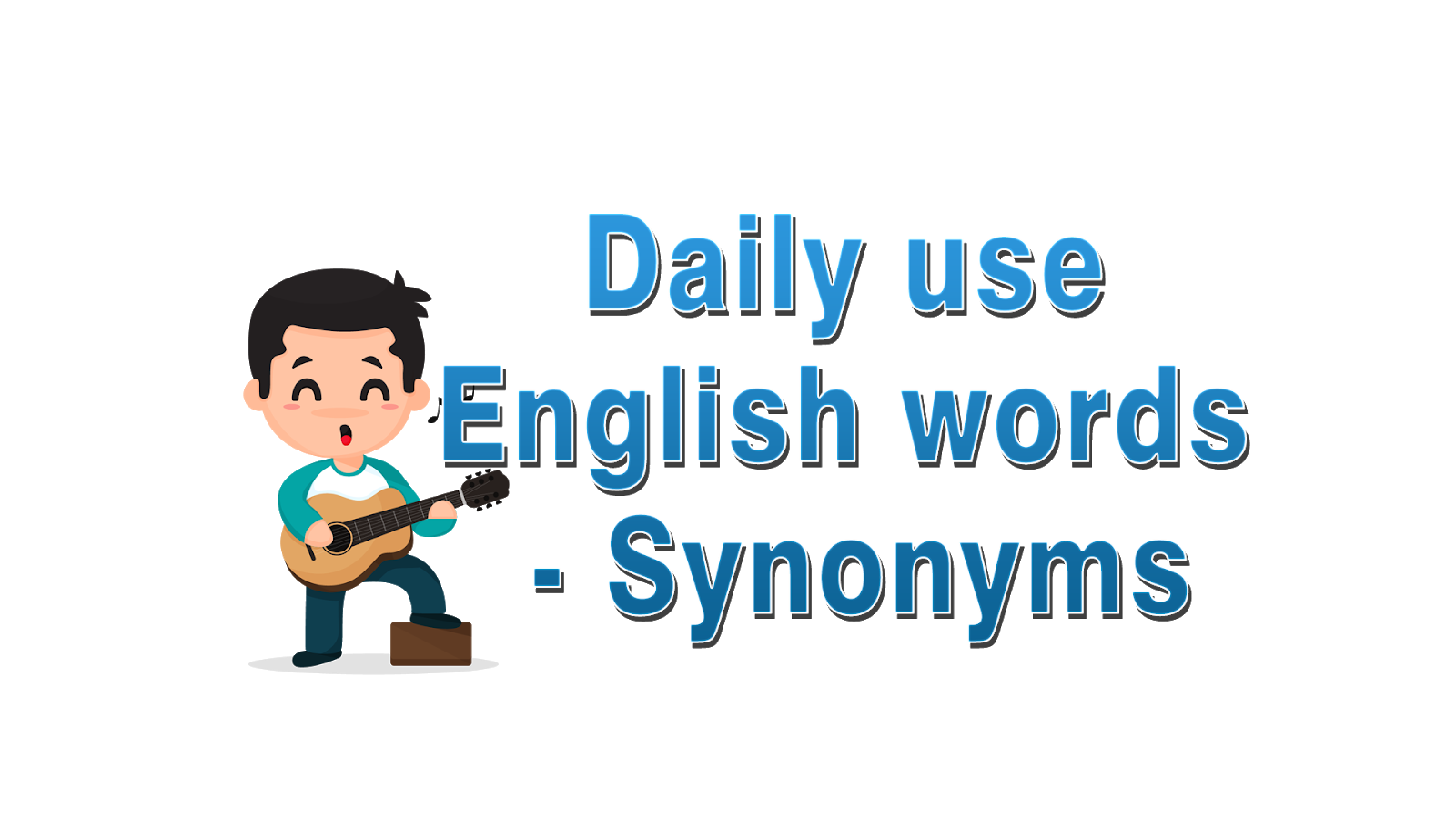 Daily Use English Words With Bengali Meaning Synonyms