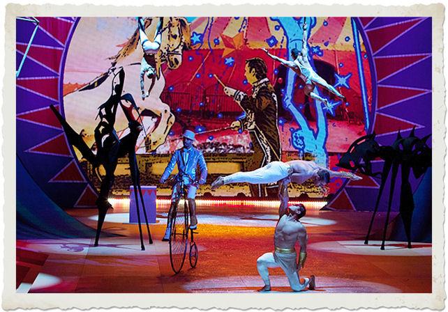 sfilata in lingerie Victoria's Secret tema Circus