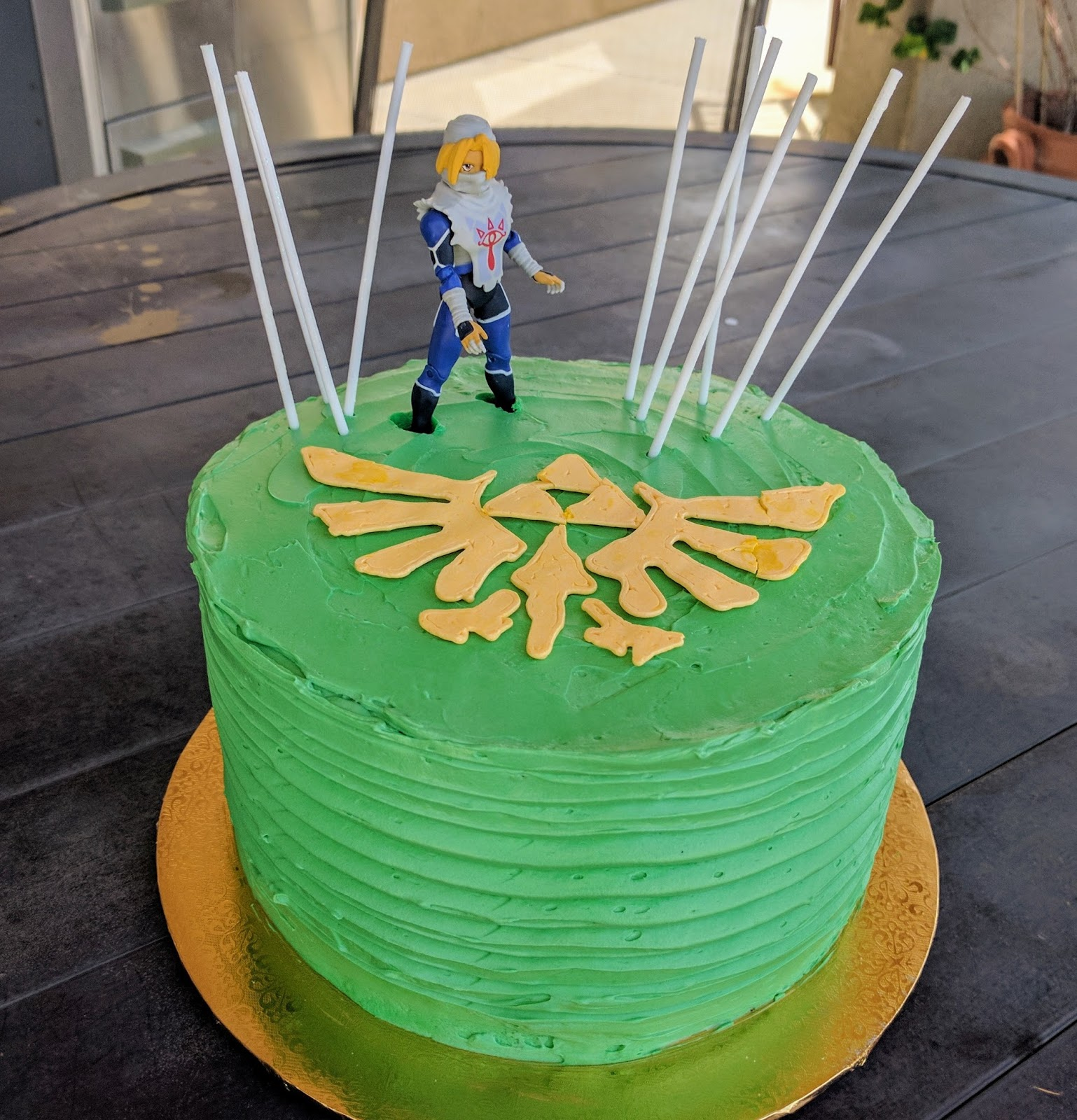 Legend Of Zelda Cake What The Dog Ate