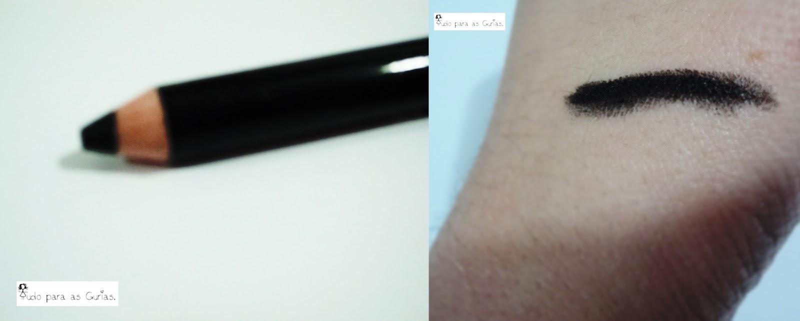 lápis de olho; jumbo; preto