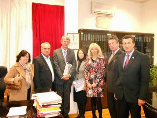 Καστοριά: Επίσκεψη του γενικού πρόξενου της Σερβίας Σίνιτσα Πάβιτς (φωτογραφίες)