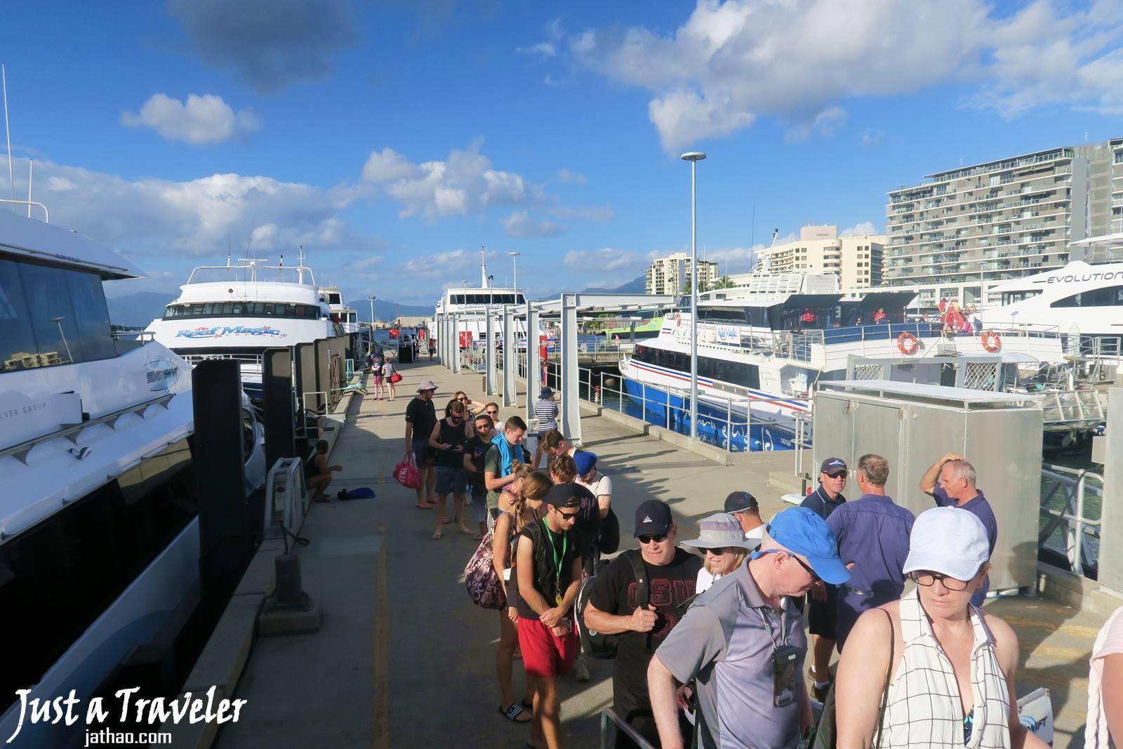 凱恩斯-港口-大堡礁-外堡礁-推薦-公司-行程-旅遊-自由行-澳洲-Cairns-Outer-Great-Barrier-Reef-Travel-Australia
