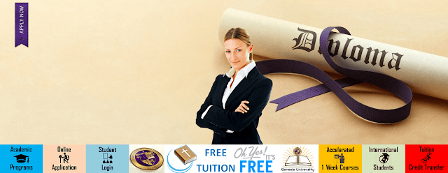 100% online Tuition-Free Diploma