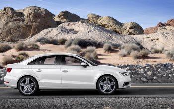 Wallpaper: Audi A3 Sedan 2015 Model Car