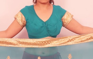 Saree Wearing Styles   How to Wear Saree Easily and Quickly