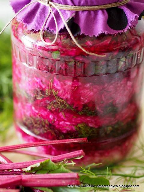 kapusta kiszona z burakami, buraczki kiszone, kiszone warzywa, kiszonki, fermentacja, sieje ferment, samo zdrowie