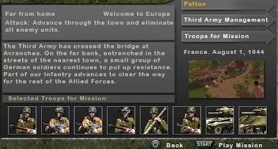 Download Legends Of War Patton PSP PPSSPP