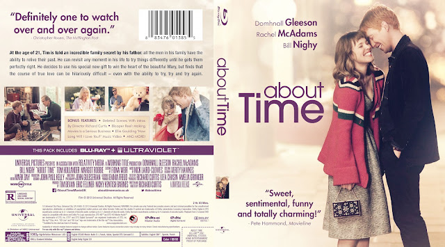 About Time Bluray Cover
