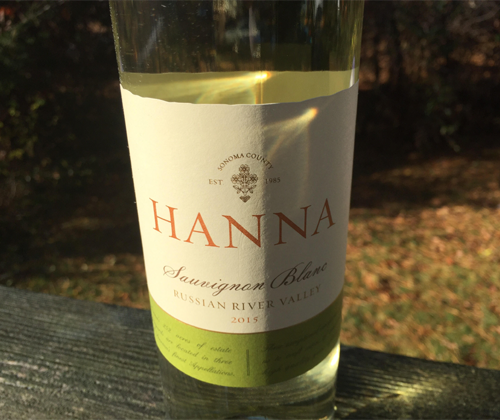 Hanna Russian River Valley Sauvignon Blanc 2015
