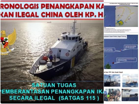 Arogansi Cina dan Kronologi Lengkap Insiden KP Hiu 11 di Perairan Natuna Indonesia