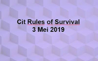Link Download File Cheats Rules of Survival 3 Mei 2019