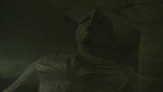 The ancient Tiga statue