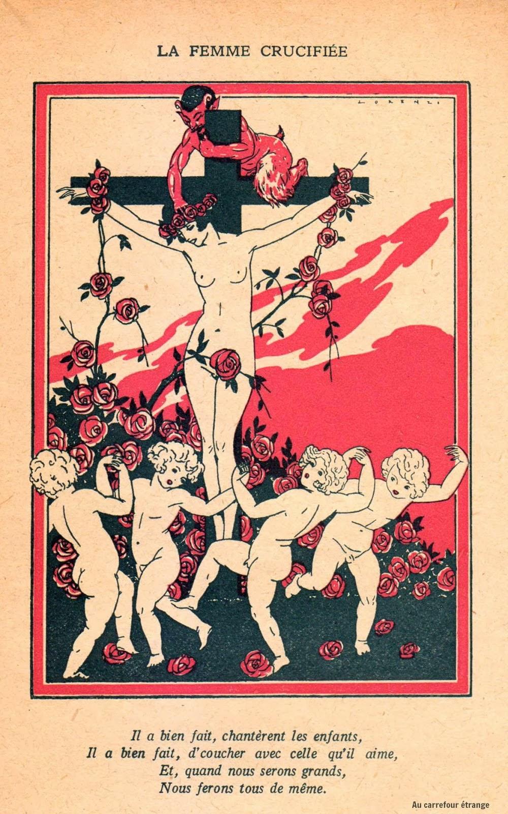 Mujeres crucificadas Crucified women  Fabio Lorenzi