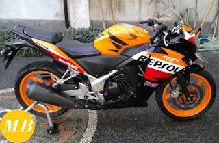 harga motor honda cbr 250r second lengkap