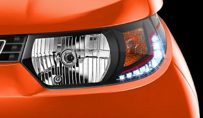 Mahindra KUV 100 Headlight image
