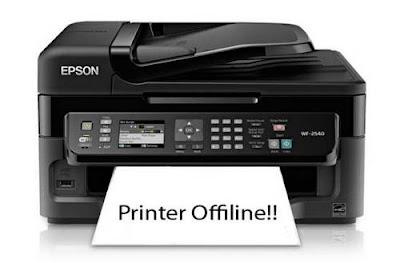 5 Penyebab Printer Offline