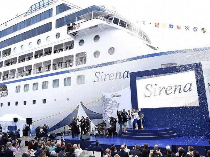 Oceania Cruises' Sirena Officially Christened