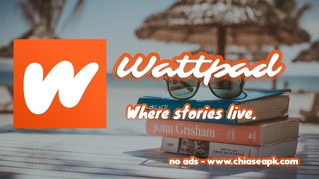 Wattpad 8.13.0 Mod AD Removed - Đọc Truyện Online