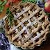 #149 Tarta z jabłkami, rabarbarem, powidłami i łyżeczką kakao