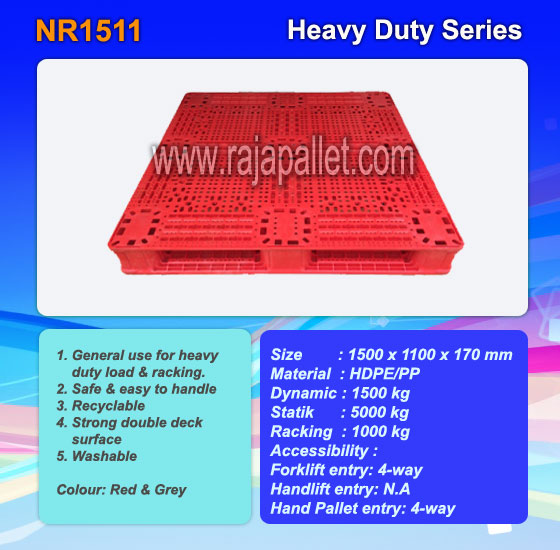 Distributor Pallet Plastik Heavy Duty Murah