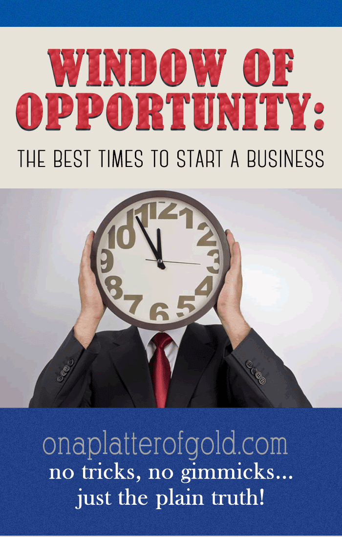 Window Of Opportunity: The Best Times To Start A Business [Infographic]