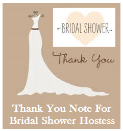 Thank You Messages From Bridesmaids To Bride/Thank You Note From ...