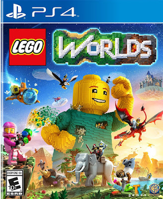 Lego Worlds Game Cover