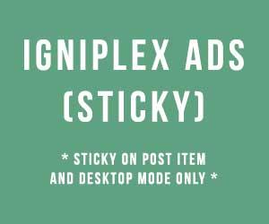 IGNIPLEX - Template Blogspot Valid HTML5 Schema.org
