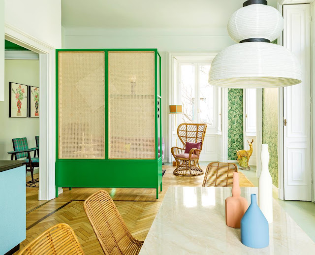 This Colorful Apartment in Milan Will Make You Happy- design addict mom