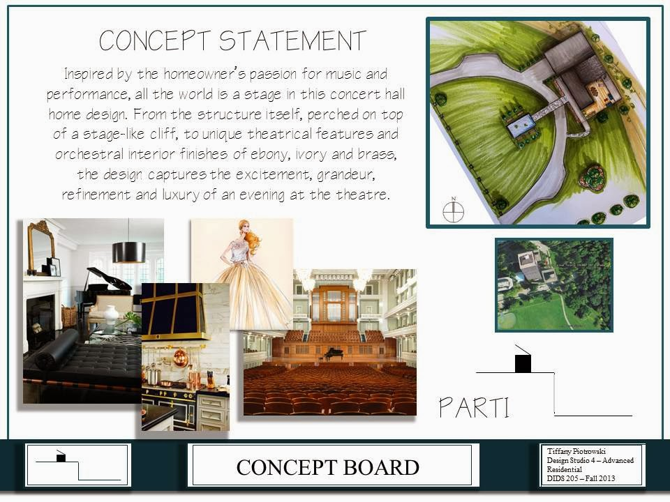 Interior Design Concept Statement Examples: Tiffany Leigh Interior Design: Term 5 Final Project
