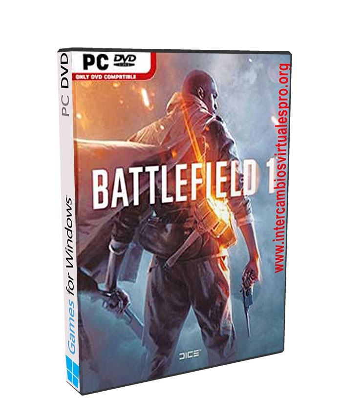 BATTLEFIELD 1 poster box cover
