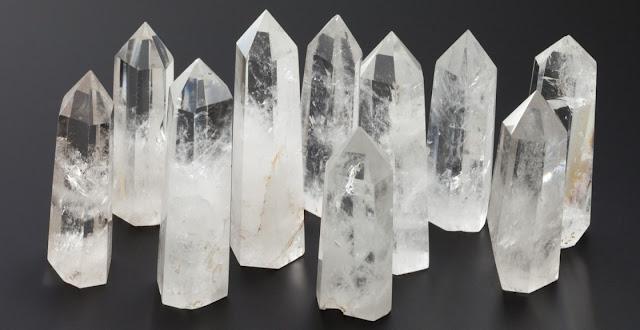 Cuarzo y cristales