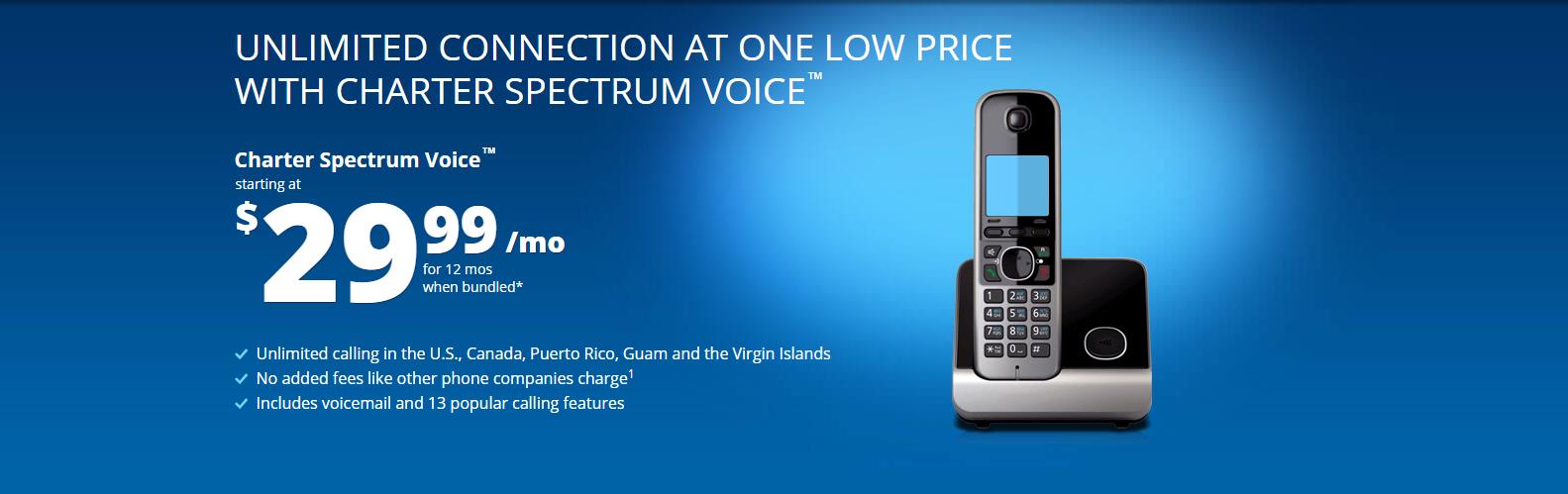 spectrum charter phone number