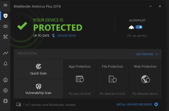 Download Bitdefender Antivirus 2018 Offline Installer