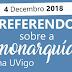 Resultados del referéndum en la Universidad de Vigo sobre el modelo de Estado