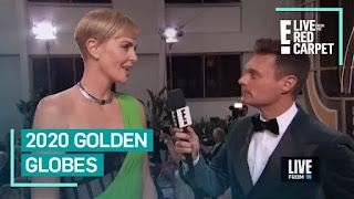 "Charlize Theron fala sobre ""Bombshell"" e #MeToo no Globo de Ouro de 2020"