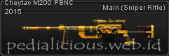 Senjata Point Blank CheyTac M200 PBNC 2015