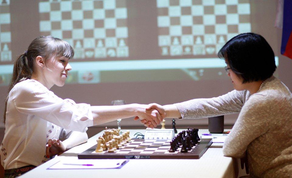 Victoire importante de la joueuse russe Olga Girya face à la Chinoise Zhao Xue - Photo © Anastasia Karlovich