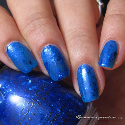 nail polish swatch of Tear it Up by SinfulColors