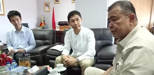 Wagub Nasrul Abit:  Investor Jepang Inginkan Cangkang Sawit