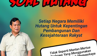 Emak-Emak Cerdas: Tukang Ojek Aja Kredit Motor, Jokowi Utang Untuk Bangun Jalan
