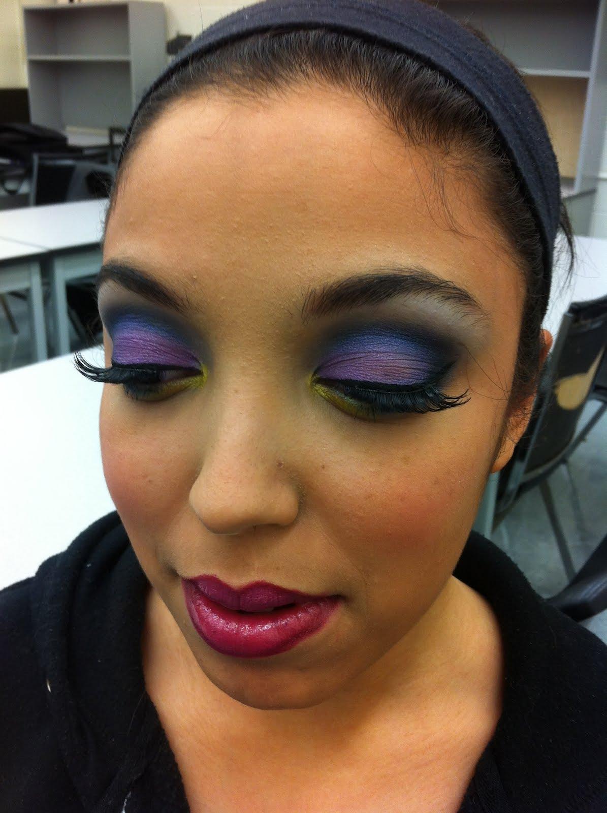 Glamour Makeup: MakeupByMelanie: Glamorous Colorful Makeup Look