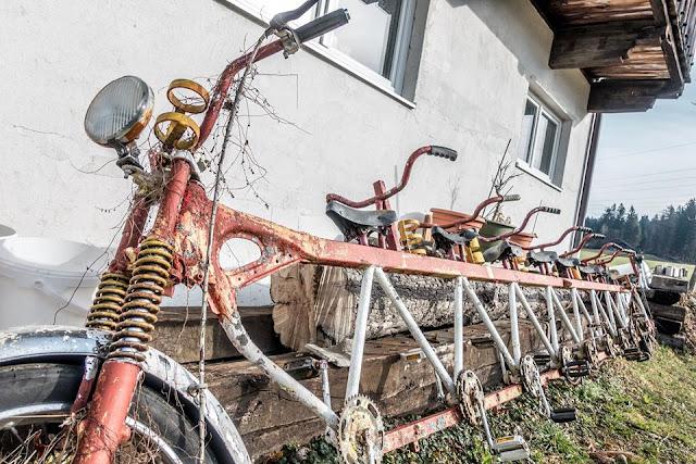 Fahrrad für 10 Tandem