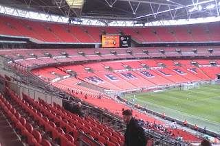Wembley Stadium ahead of National League Promotion Final between Salford City and AFC Fylde