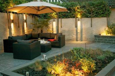 Garden lights can help express the beauty of the garden at night