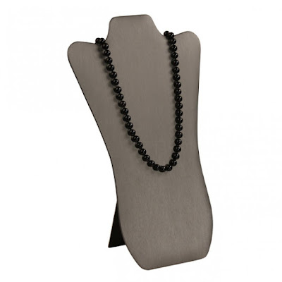 Shop Nile Corp Wholesale Faux Leather Necklace Easel Display